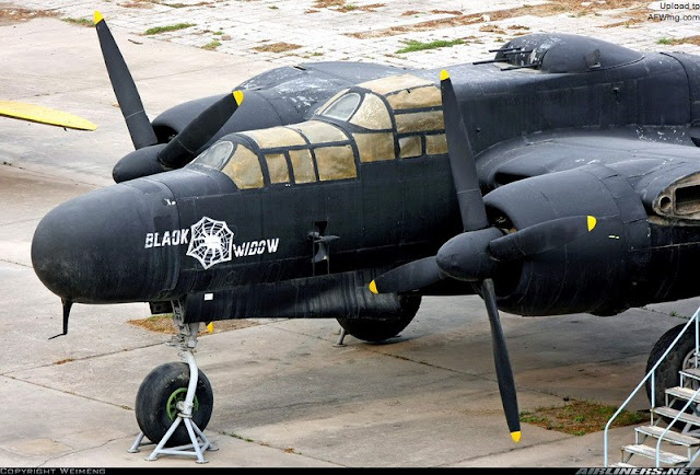 Northrop P-61 Black Widow night interceptor worldwartwo.filminspector.com