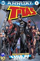 DC Renascimento: Titas - Anual #1
