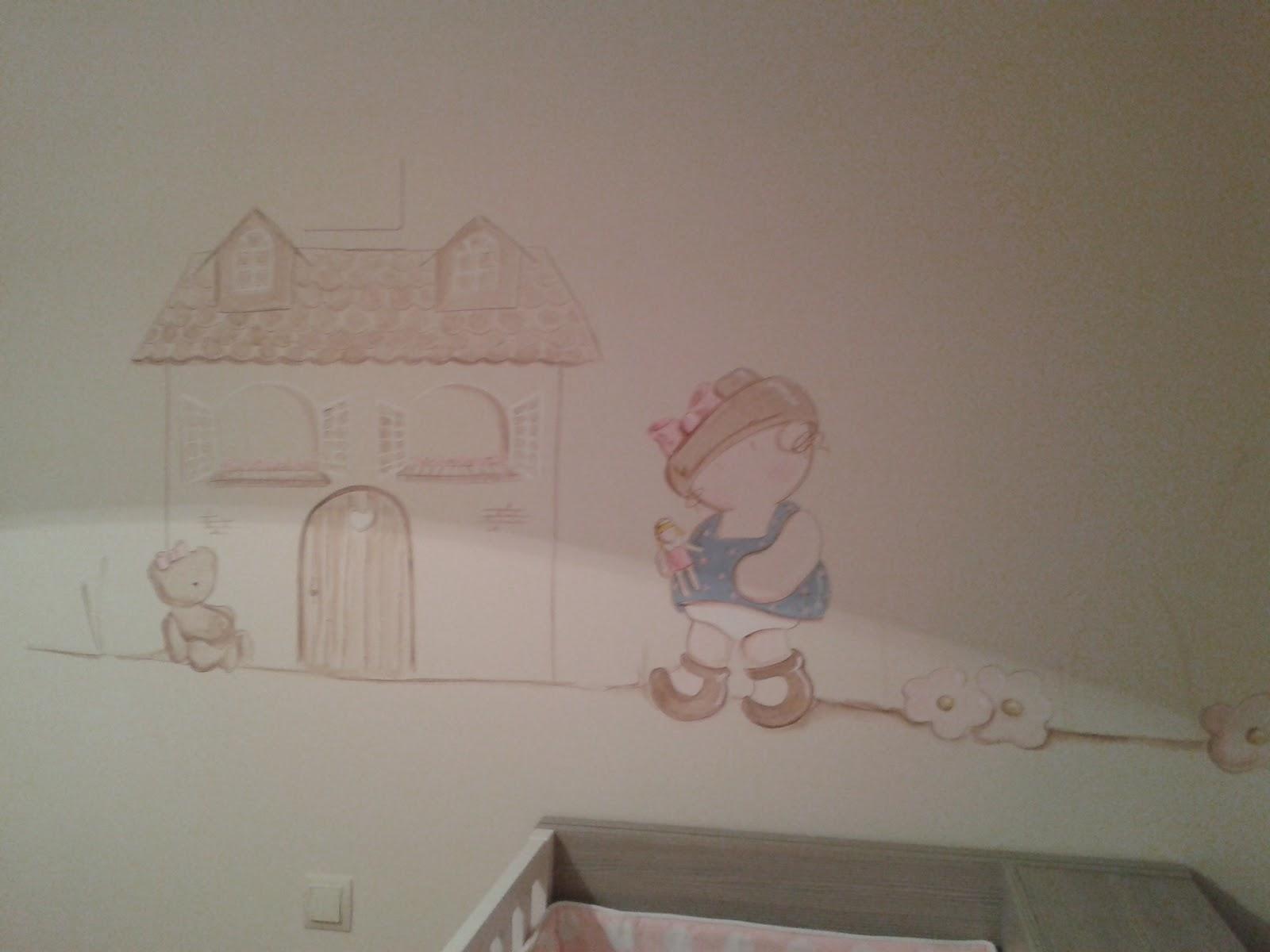 chambre bebe peinture murale 28 images chambre b 233 b 233 20 id 233 es de d 233 co et de. Black Bedroom Furniture Sets. Home Design Ideas