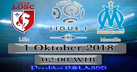 Prediksi Bola855 Lille vs Marseille 1 Oktober 2018