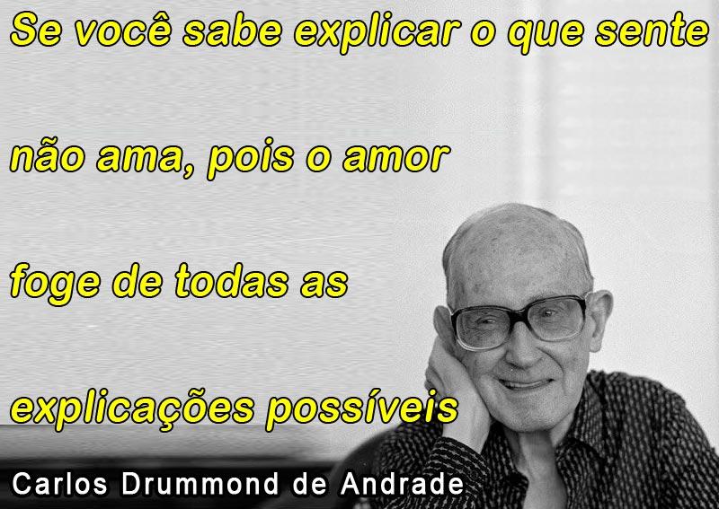 Tag Carlos Drummond De Andrade Frases Amor