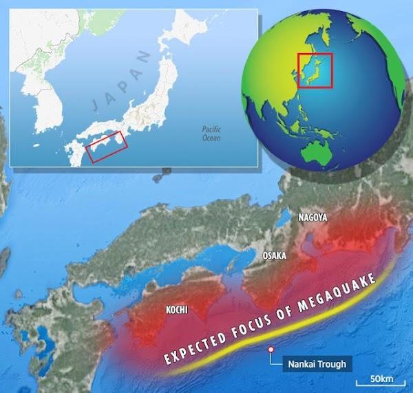 Japón se prepara para un terremoto monstruoso y un tsunami de 30 METROS que podría matar y dañar a millon en los próximos 30 años.