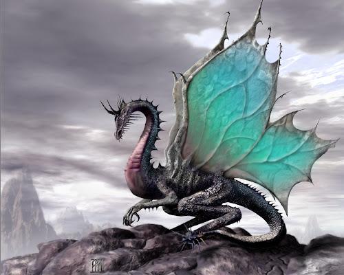 Wallpaper Koleksi Gambar Naga Fantasi Terkeren