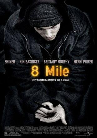8 Mile 2002 BluRay 800MB Hindi Dual Audio 720p Watch Online Full Movie Download Worldfree4u 9xmovies