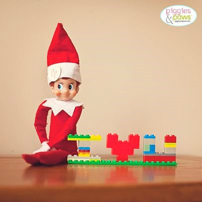 Image result for lego elf on the shelf