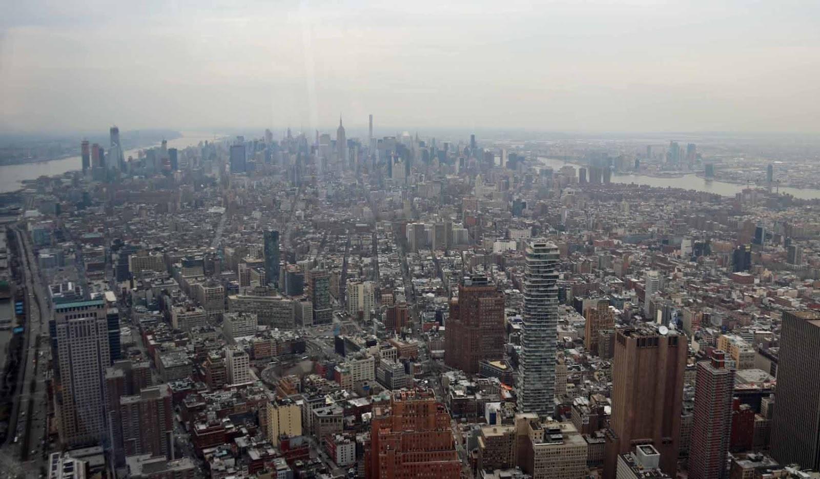 Manhattan pilvisellä säällä