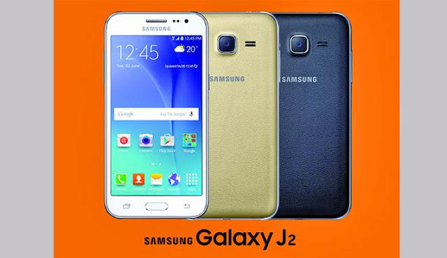 Smartphone samsung dengan layar sAMOLED termurah_Galaxy j2