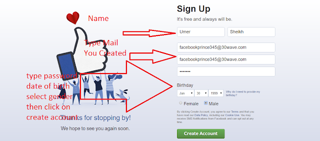 How to Create Facebook Account without Phone Number (Using Email