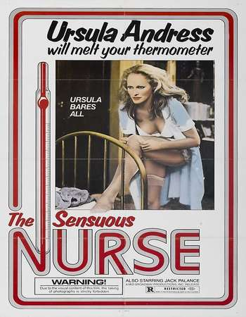 Poster Of The Sensuous Nurse 1975 Dual Audio 300MB DVDRip 480p ESubs - UNRATED Free Download Watch Online Worldfree4u
