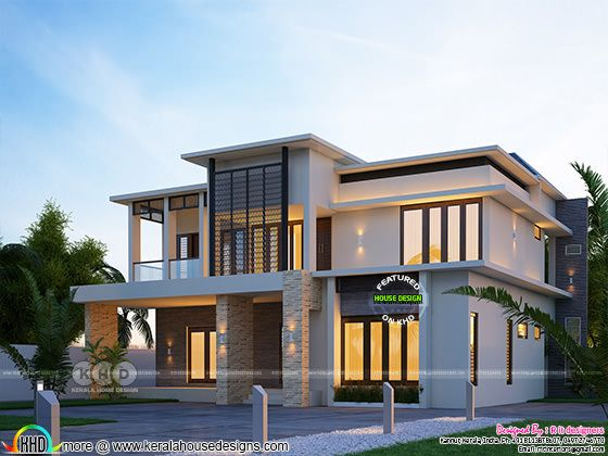 4 Bedroom house rendering in 3207 sq-ft