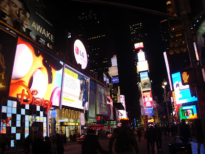 NEW YORK - TIMES SQUARE A NOITE