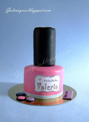 tarta laca de uñas