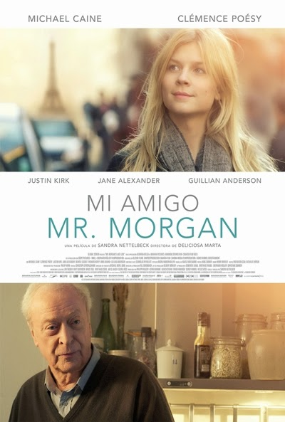 Póster: Mi amigo Mr. Morgan (2013)