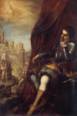 El sueño de San Fernando - Atribuido a Matías de Arteaga y Alfaro h. 1672 - Colección BBVA
