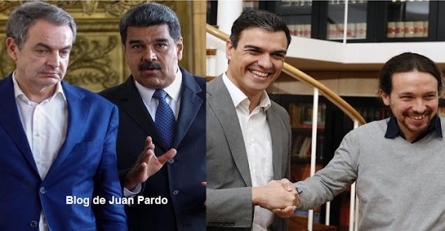 """Juan Pardo: Sarah Sanders, portavoz de la Casa Blanca: """"Zapatero, Sánchez e Iglesias son cómplices necesarios del mayor sufrimiento y derramamiento de sangre en Venezuela"""""""