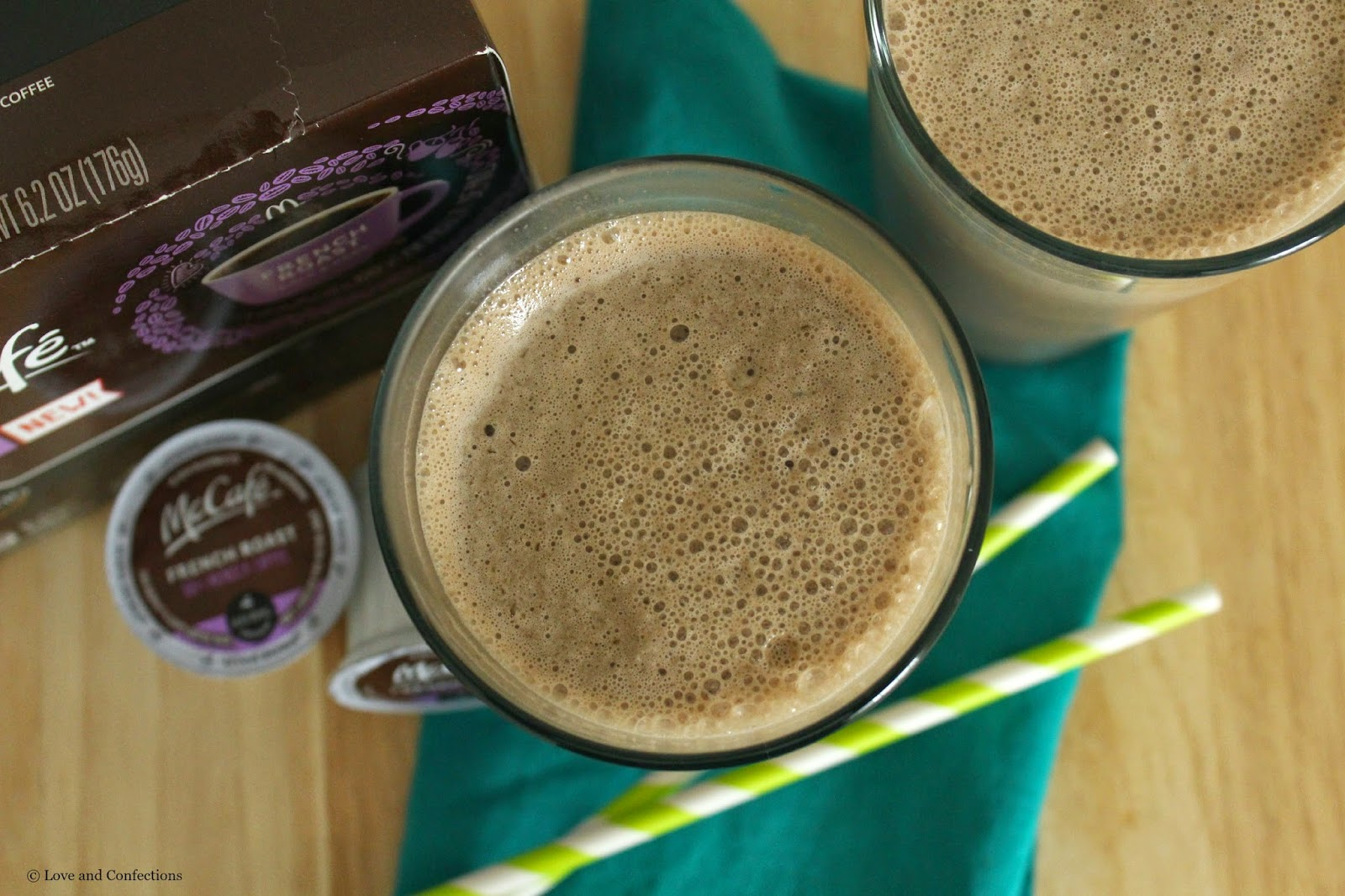 Breakfast Coffee Smoothie from LoveandConfections.com