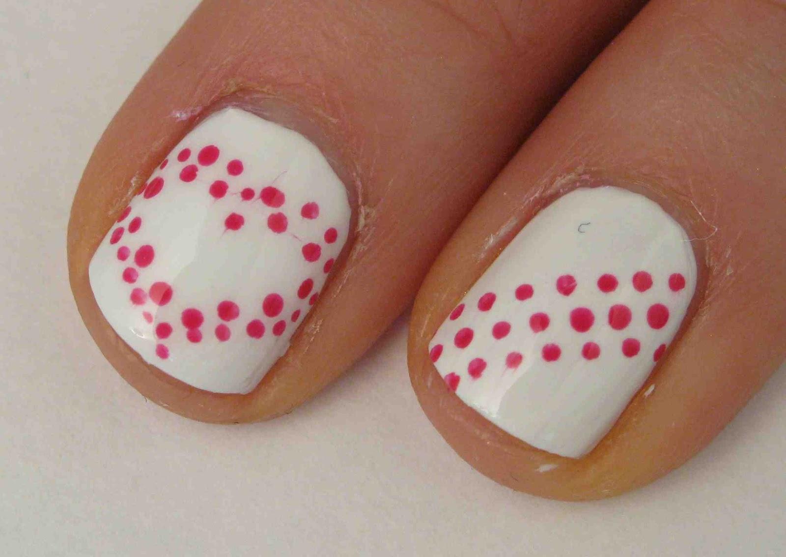 Miss80Million: Easy Valentine's Day Nail Art Tutorial ...
