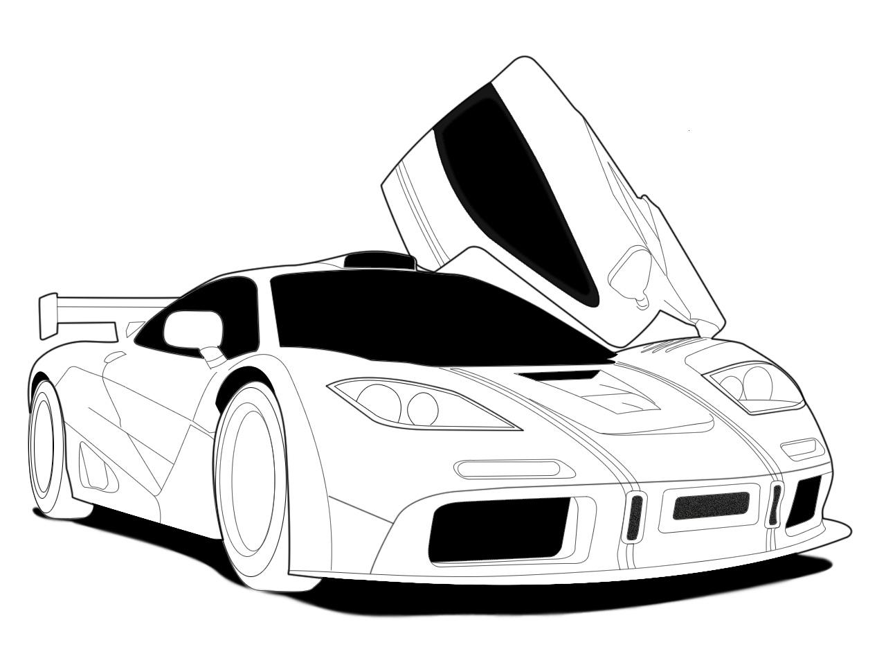 Club 4 Buzz: McLaren F1 White