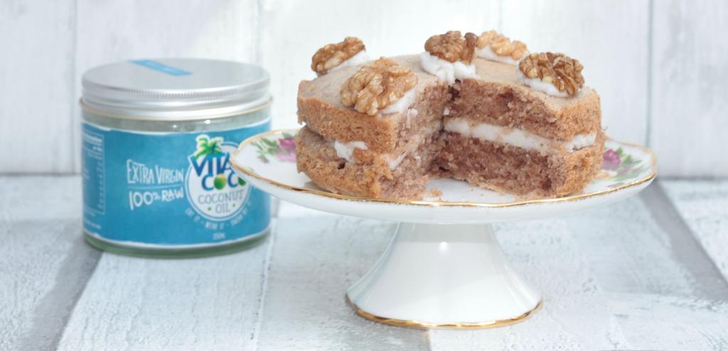 Cake Recipes Using Coconut Oil Uk
