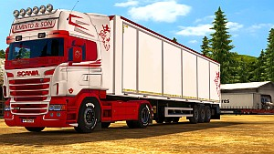 R.Minto & Son pack skin for Scania RJL