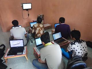 Peserta Kursus Komputer Kelas Office Angkatan 1 Akan Segera Selesai