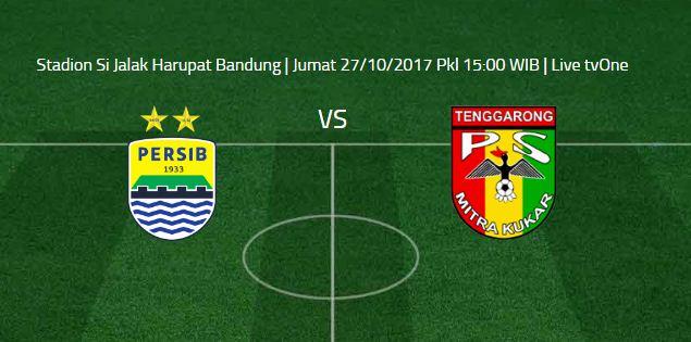 Prediksi Persib Bandung vs Mitra Kukar 27 Oktober 2017