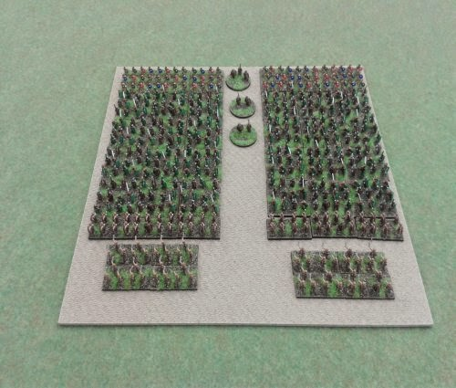 Re-based and touched up my Gallic/Celtic army which i bought of ebay picture 1