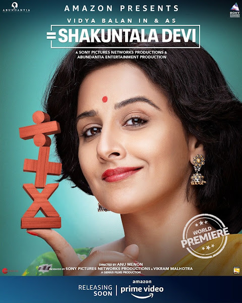 Shakuntala Devi (2020) Full Movie [Hindi-DD5.1] 1080p HDRip ESubs Download
