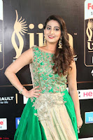Manjusha in Beautiful Sleeveless Green Anarkali dress at IIFA Utsavam Awards 86.JPG