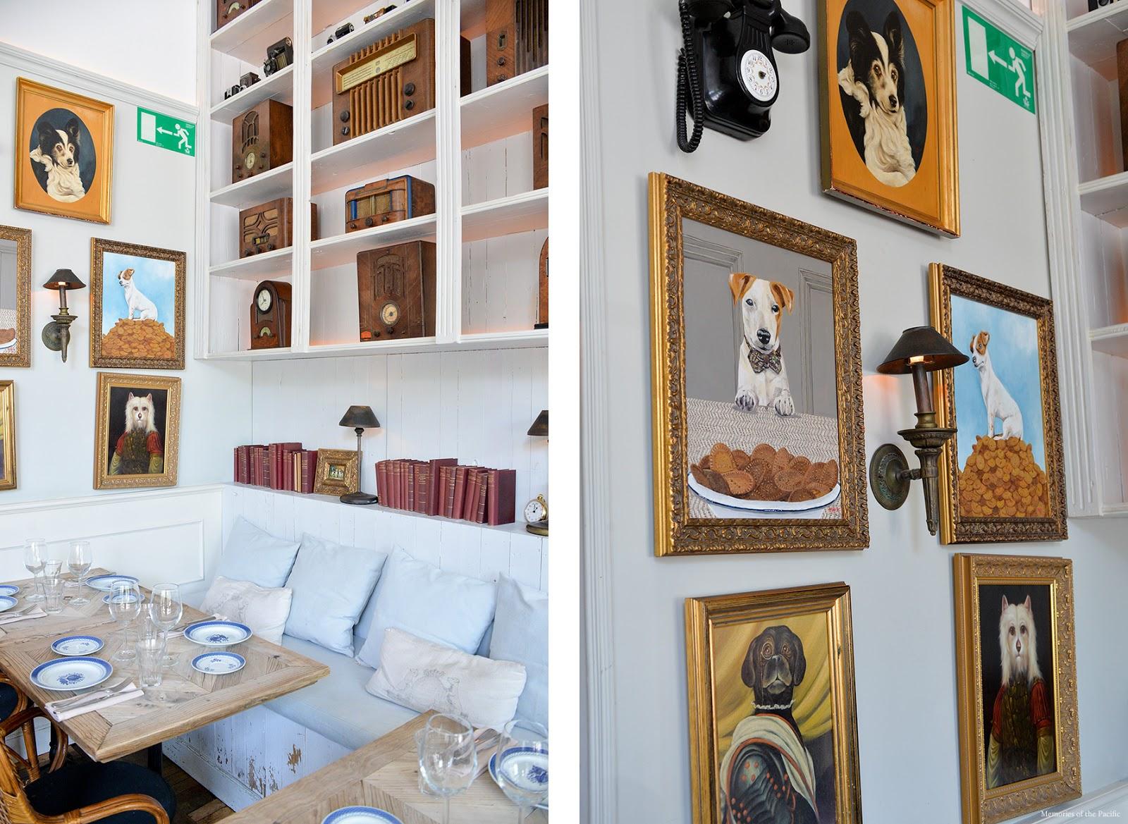 El Perro y la Galleta trendy restaurant Madrid