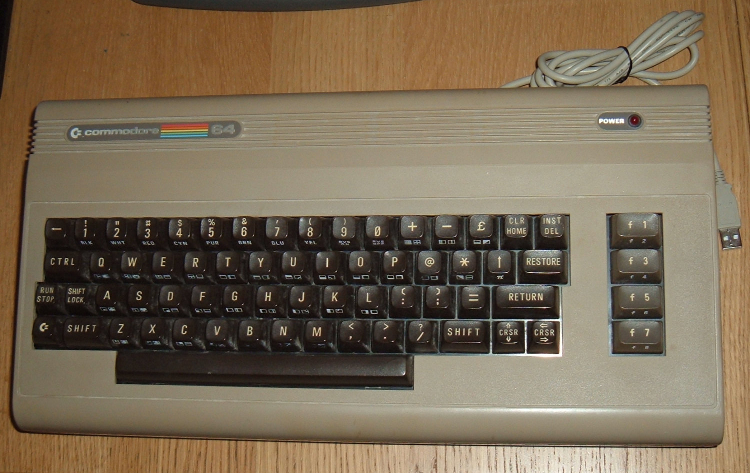Tynemouth Software: Commodore 64 Shared USB keyboard