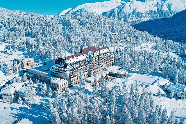 musim salju di St. Moritz, Swiss