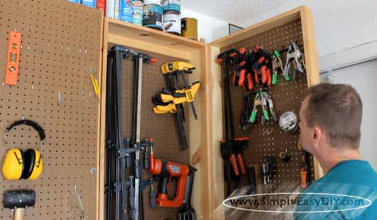 clamp storage