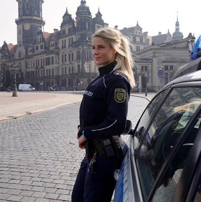 Adrienne Koleszar, 31-year-old German policewoman