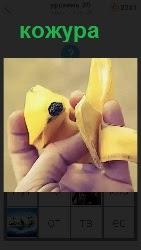460 слов в руках человек держит кожуру от банана 20 уровень