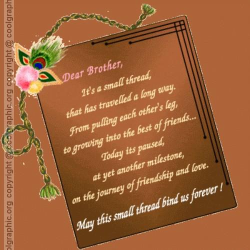 Happy Raksha Bandhan Poems