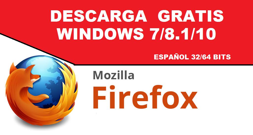descargar mozilla firefox 32 bits español