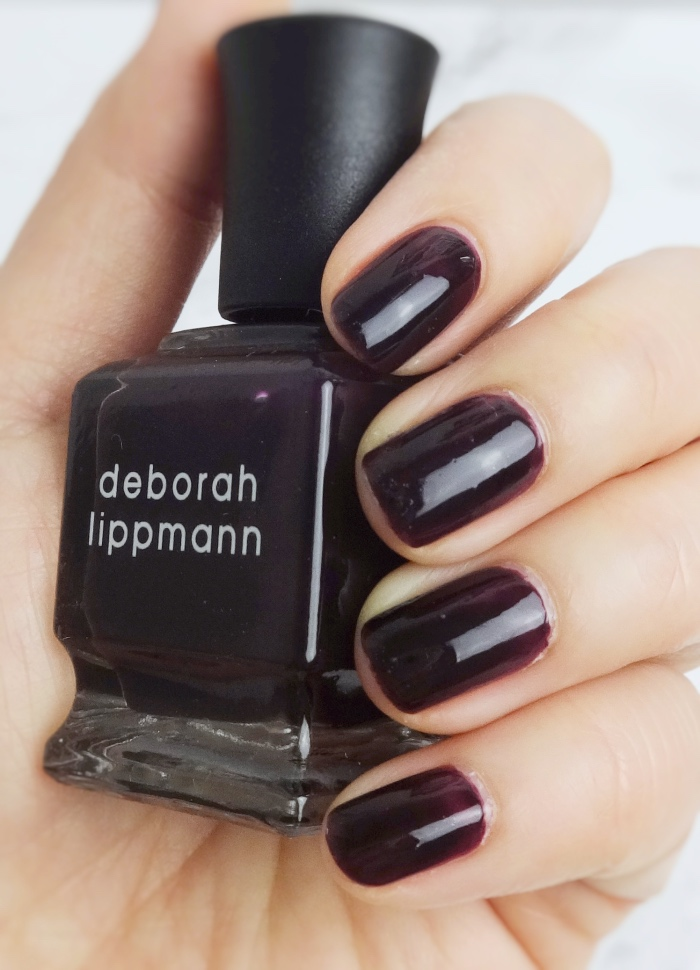 Deborah Lippmann Dark Side Of The Moon swatch