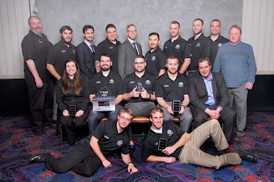 UAA Construction management students secured a second and third place win at this year's national Associated Schools of Construction Competition.
