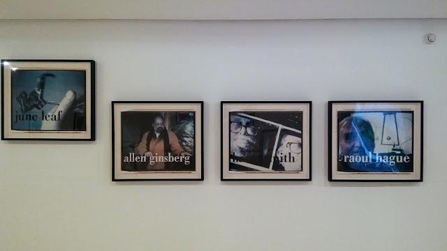 Fotografías de Robert Frank en su exposición en el IVAM de Valencia.