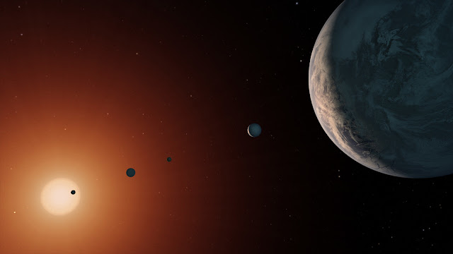Sharing life with the planets next door