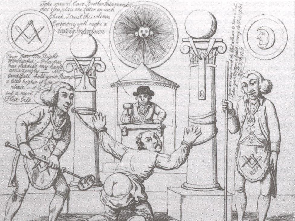 Dr  David Harrison: Masonic Cartoons