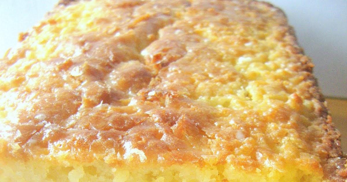 Lemon Basil Pound Cake