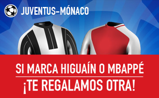 sportium Promocion Juventus vs Mónaco 9 mayo