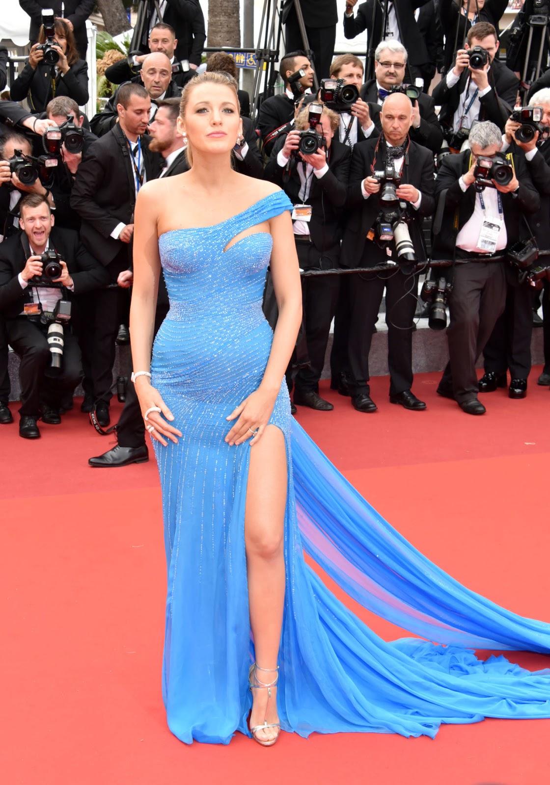 Blake Lively in Atelier Versace. Blake Lively è stata la protagonista  assoluta di questo festival di Cannes 2016  bellissima 96815f6fc42