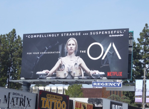 The OA season 1 Emmy consideration billboard