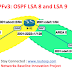 OSPF Link LSA (LSA Type 8) and Intra-Area-Prefix (LSA Type 9)
