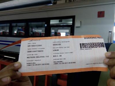 Harga Tiket Kereta Api Terbaru 2019