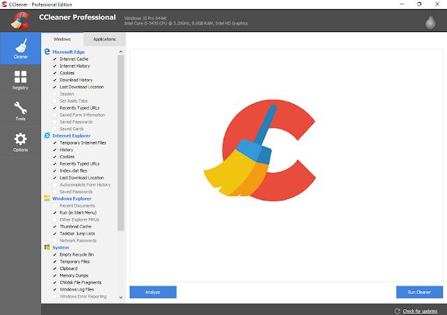 Download Software CCleaner 5.56.7144 Pro + Crack