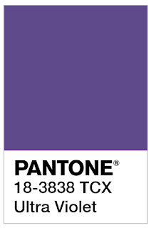 Pantone's Color of the Year--Ultra Violet